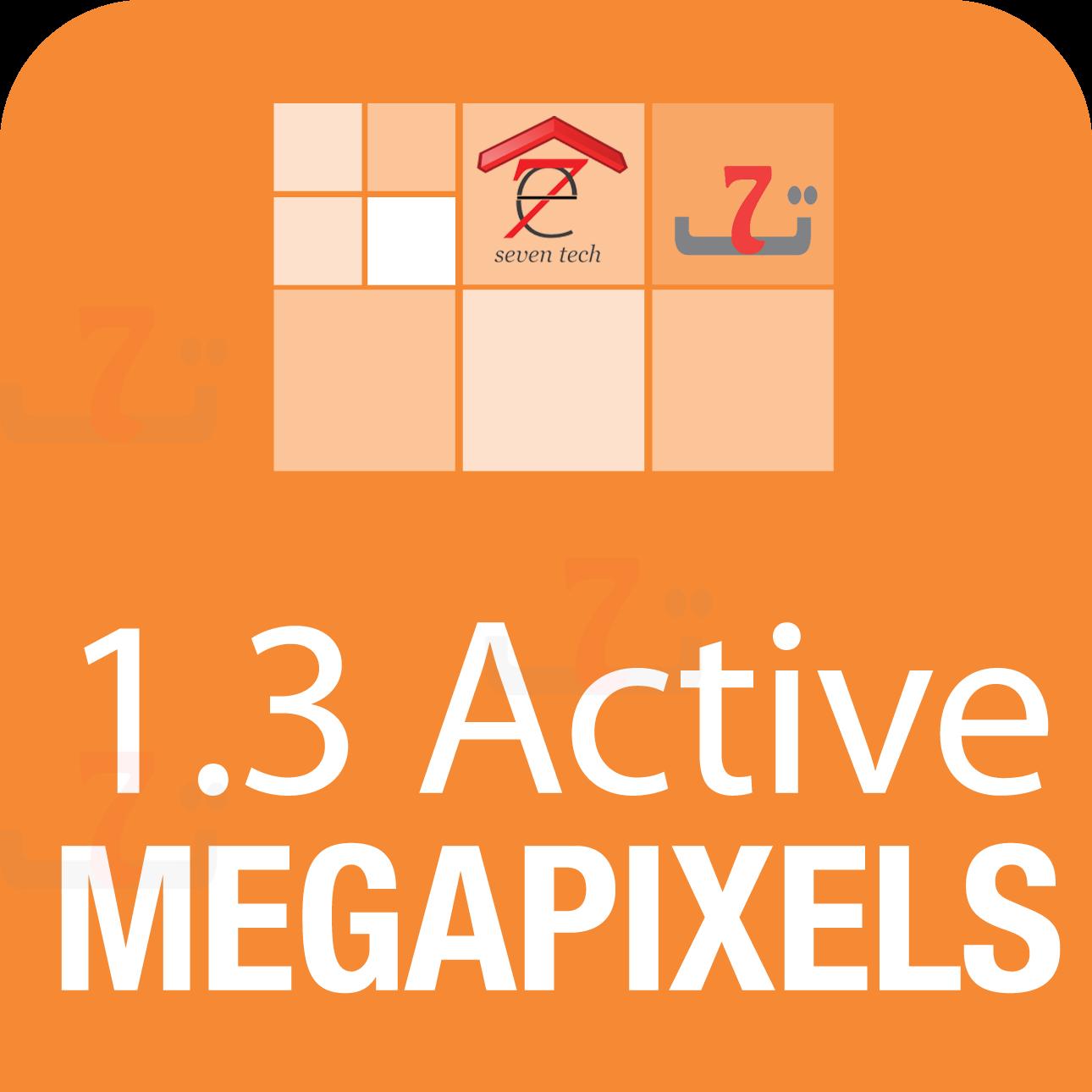 1.3 Active Megapixels